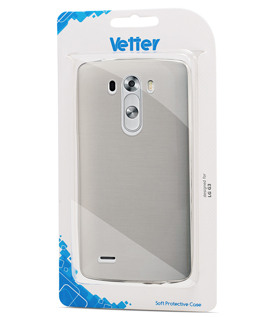 Husa LG G3 Vetter Soft Pro Crystal Series transparenta Clear