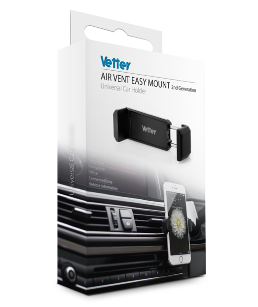 Suport auto universal Air Vent Easy Mount 2nd gen Vetter