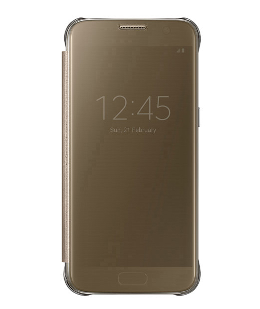 Husa Samsung Galaxy S7 Clear View Cover aurie