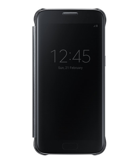 Husa Samsung Galaxy S7 Clear View Cover neagra