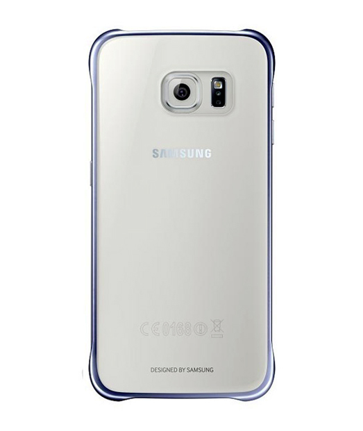 Husa Samsung Galaxy S6 G920 Protective Cover (Clear) Albastra