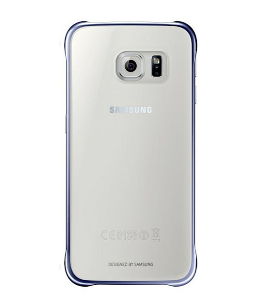 Husa Samsung Galaxy S6 EDGE G925 Protective Cover (Clear) Albastra