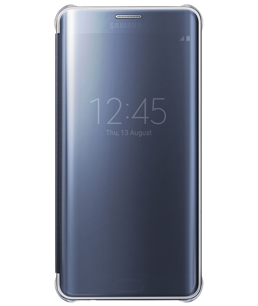 Husa Galaxy S6 EDGE Plus G925 Clear View (Blue)