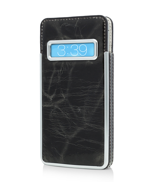 Husa iPhone 5s, 5 Caller ID Pouch Genuine Leather Vetter