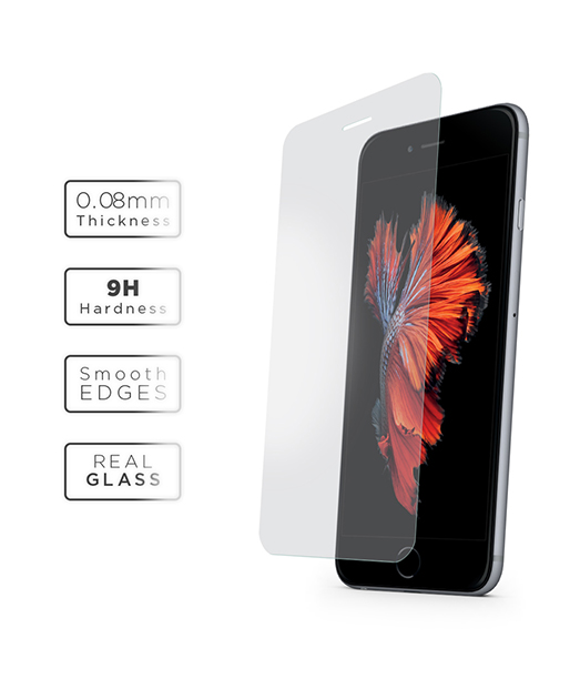 iPhone 6 Vetter Ultra Slim 0,08 mm Gorilla Glass Tempered Glass Ultra