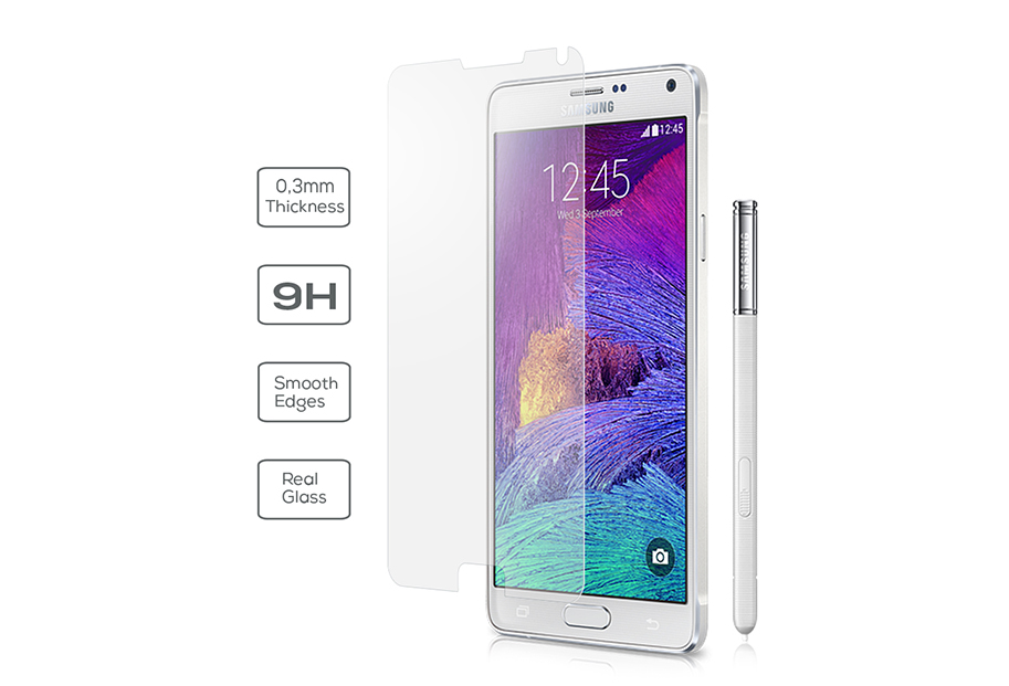 Samsung Galaxy Note 4 Vetter Tempered Glass