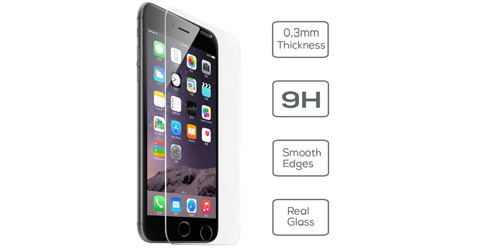 Folie protectie ecran iPhone 6 Vetter Tempered Glass