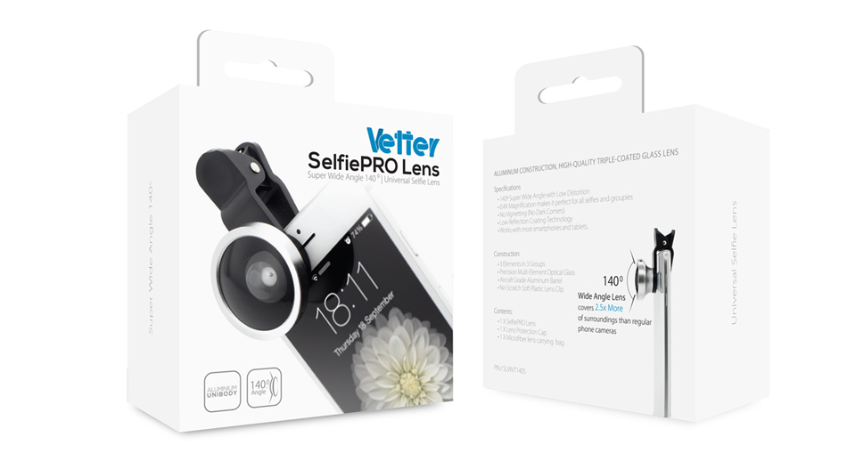 Universal Selfie Lens Wide Angle