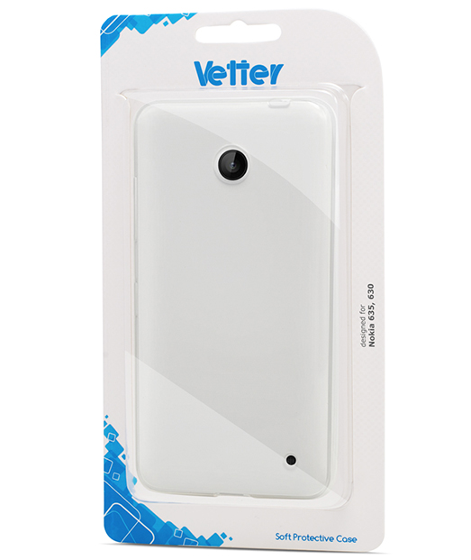 Husa Nokia Lumia 635 630 Vetter Soft Pro Crystal Series transparenta Clear