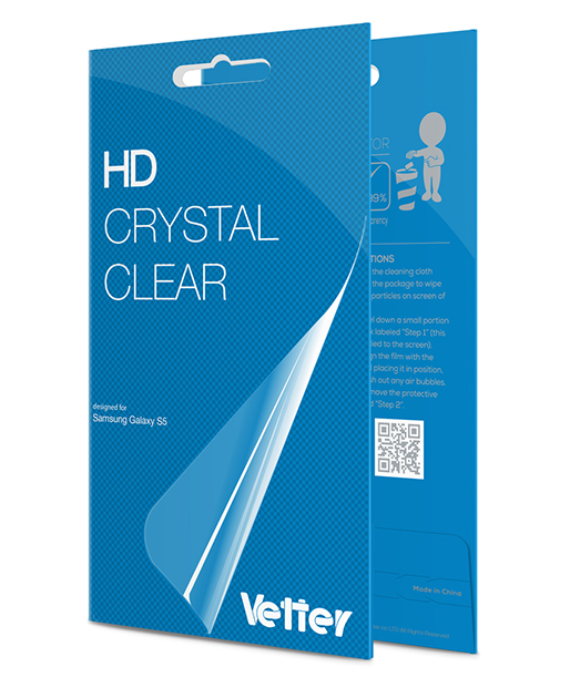 Samsung Galaxy S5 Vetter HD Crystal Clear