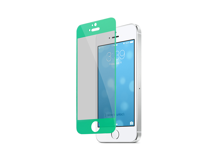 Folie Vetter Tempered Glass pentru iPhone 5s 5 - Verde