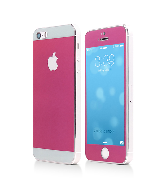 Folie Vetter Tempered Glass pentru iPhone 5s / 5 - Pink