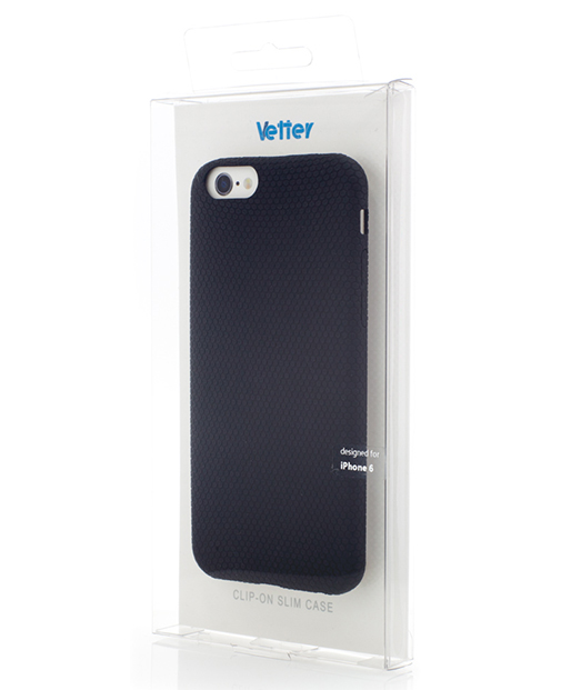 Husa iPhone 6 Vetter Soft Touch Rubber Feel neagra
