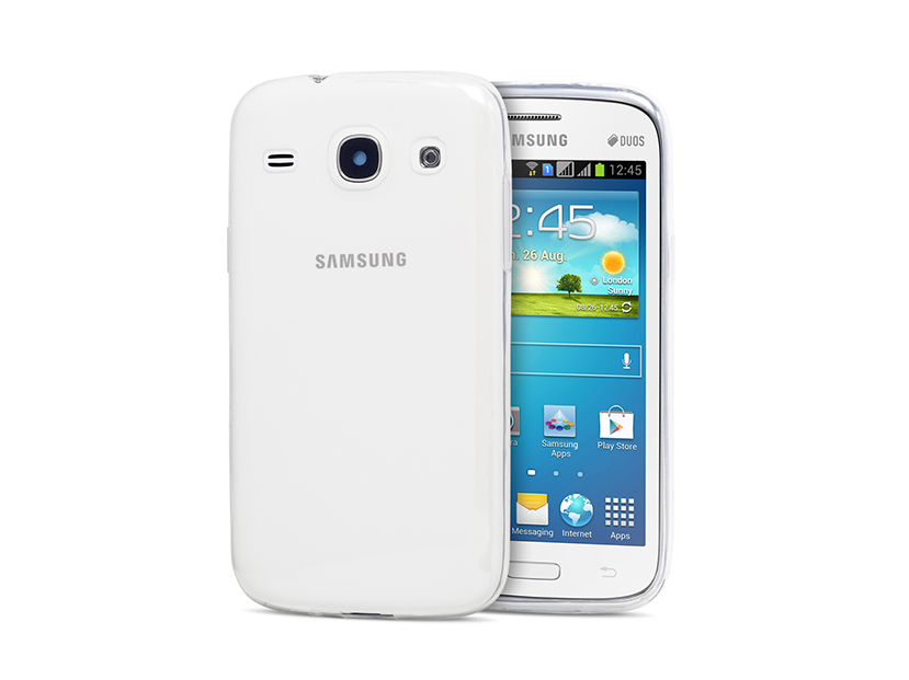 Husa Vetter Samsung Galaxy Core I8260 Crystal Series Clear