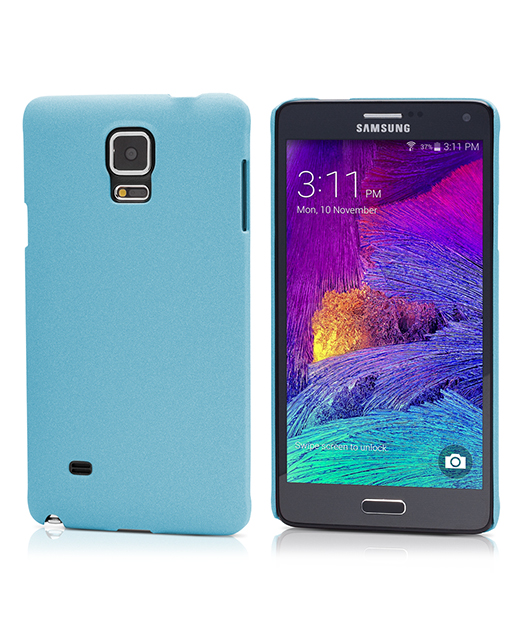Husa Ecoline Sand Series Blue Samsung Galaxy Note 4 2