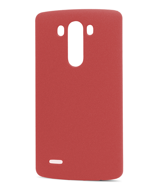Husa Ecoline Sand Series Red LG G3 2