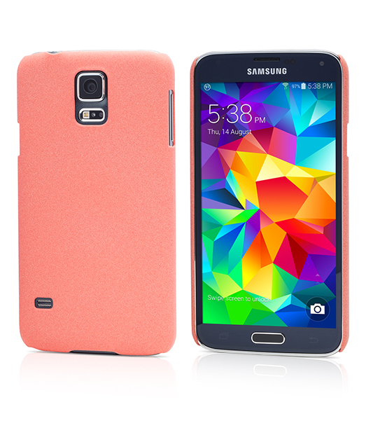 Husa Ecoline Sand Series Red Samsung Galaxy S5 2