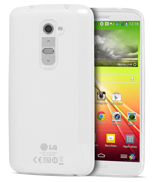 Husa Ecoline Soft Touch Clear LG G2 3