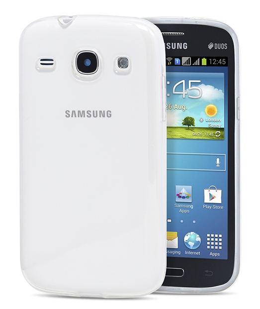 Husa Ecoline Soft Touch Clear Samsung Galaxy Core i8260 1