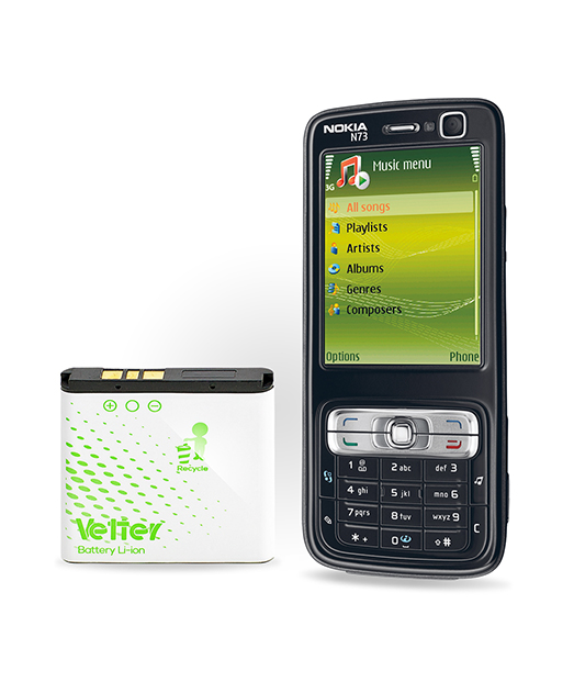 Acumulator Nokia BP-6M Vetter Battery 1000 mAh