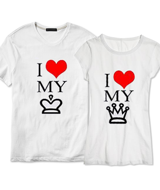 Set tricou Love Queen ❤ King