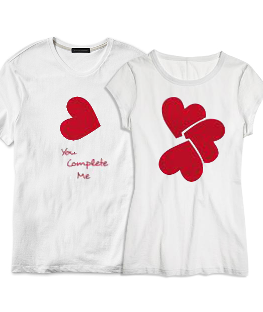 Set tricou You complete❤Me