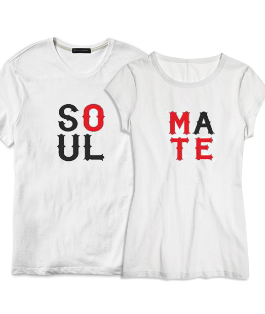 Set tricou Soul❤Mate