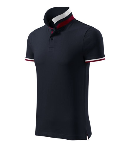 Tricou barbati Polo Malfini personalizat Collar Up