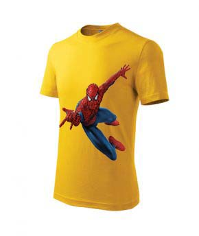 Tricou de copii Basic model personalizat Spiderman
