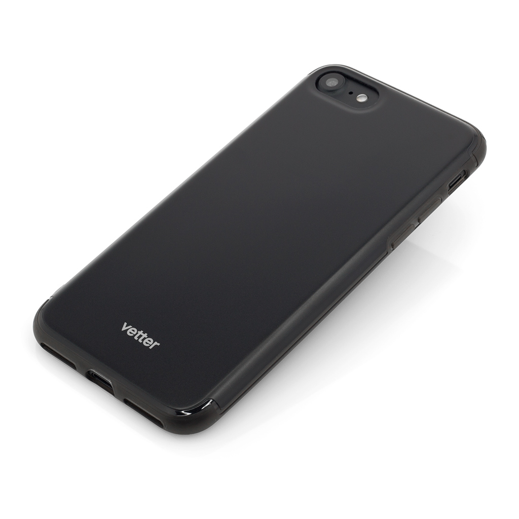 Husa iPhone 7 Clip-On Hybrid Slim Series Black