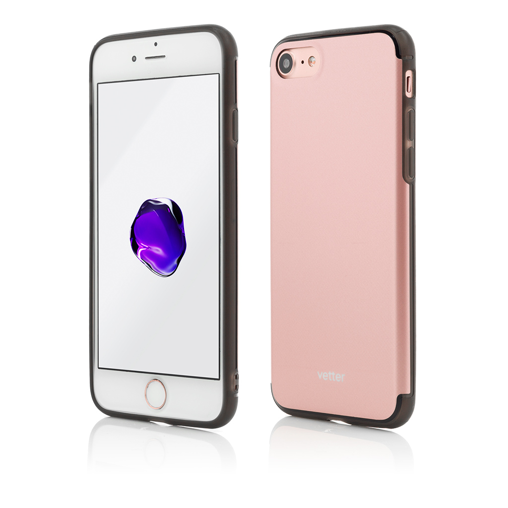 Husa iPhone 7 Clip-On Hybrid Slim Series Rose Gold